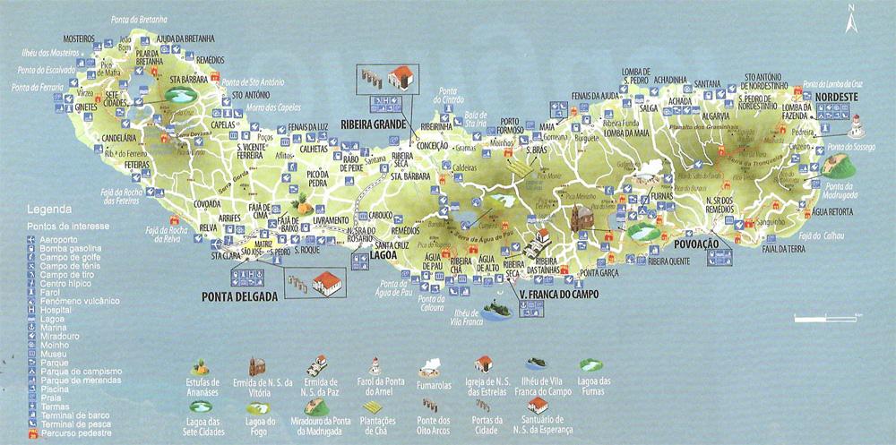 Découvrez l'île de São Miguel aux Açores: Hôtels, voyages, circuits aux Açores